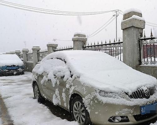 青海突降大雪積雪深達8厘米 網民:想去避暑