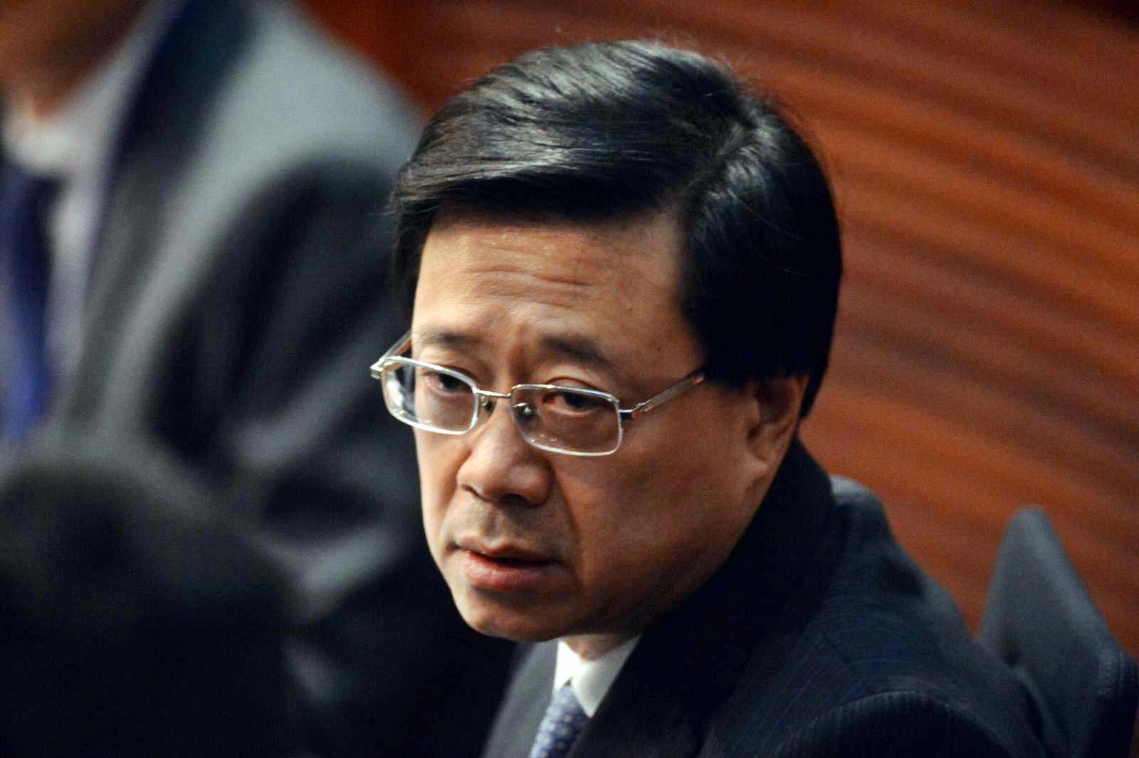 李家超出席會議時就因《逃犯條例》引起的社會紛爭而致歉。
