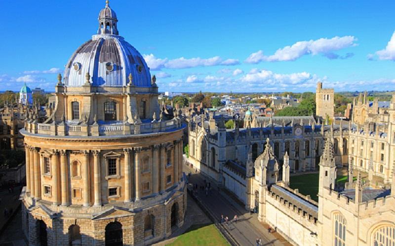 英国牛津大学。图片