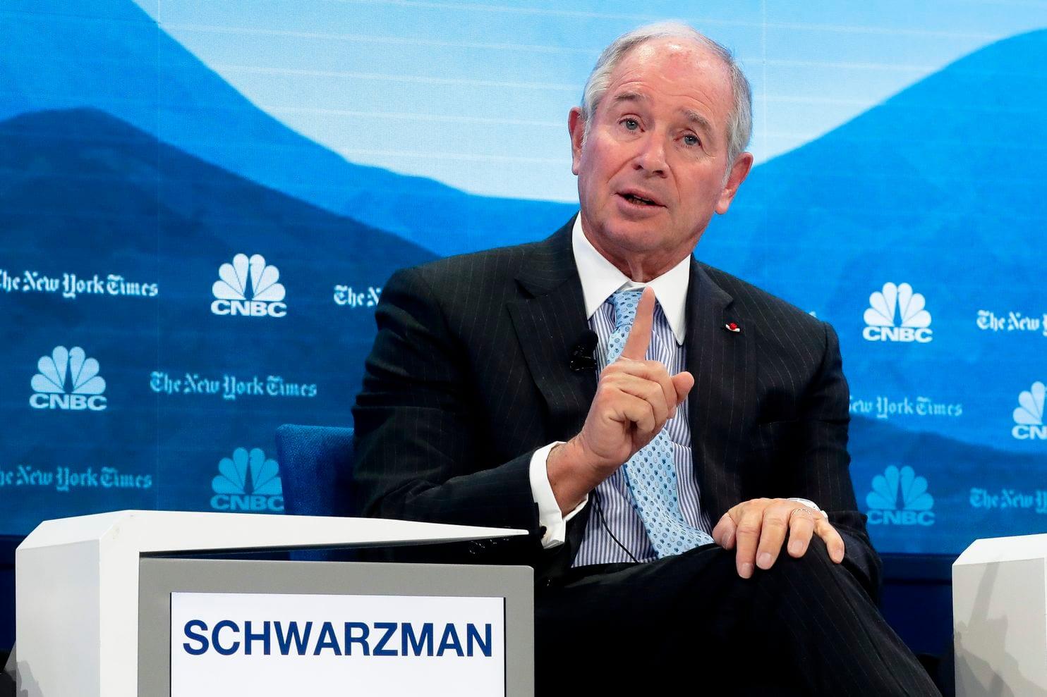 黑石集团(Blackstone)创办人兼行政总裁施瓦茨曼。图片