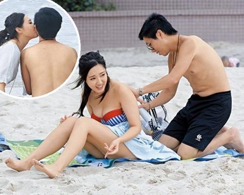 林秀怡靠《婚姻合伙人》彈起 與男友沙灘浪漫玩遊戲