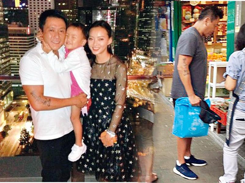 魏駿傑近年則半退休幕前工作,抽多些時間陪妻子張利華及囡囡Jessica。東周刊圖片