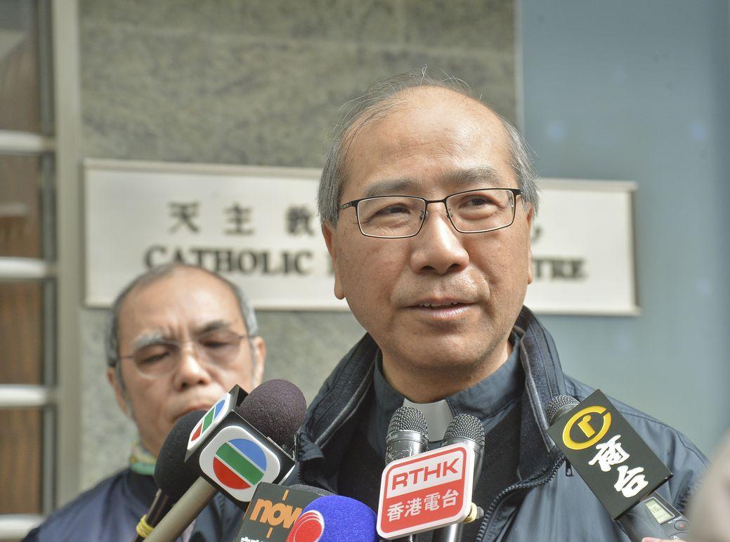 夏志誠呼籲政府撤回修例。資料圖片