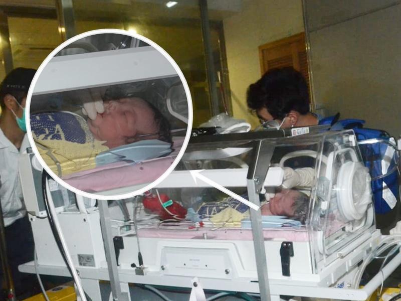 22歲孕婦天水圍家中產子,送院後無大礙。