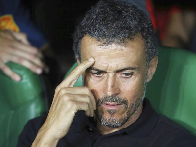 安歷基辭任西班牙教練。AP