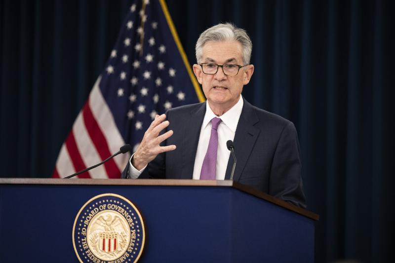 联储局主席鲍威尔:法律清楚定明我任期有四年。AP