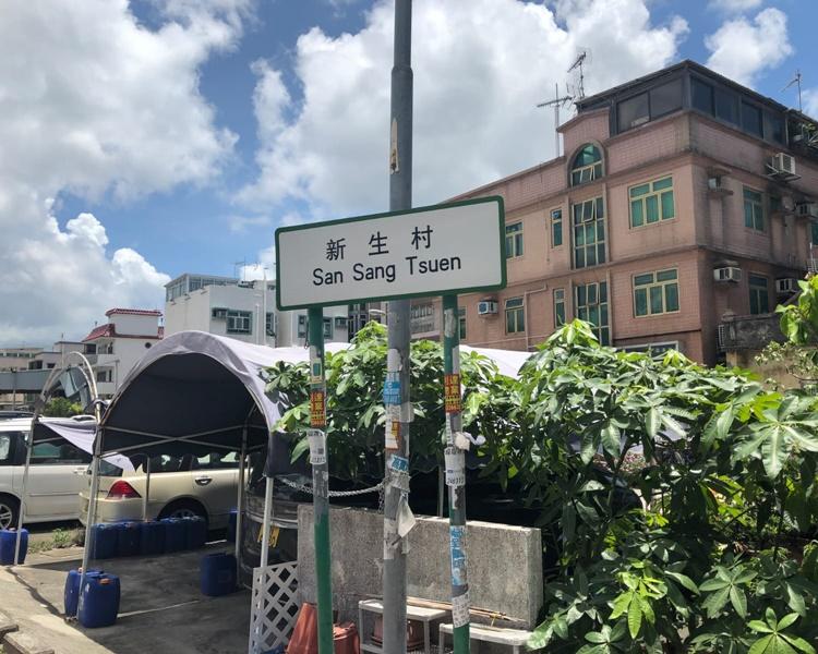 消息指被捕女子居於新生村。歐陽偉光攝