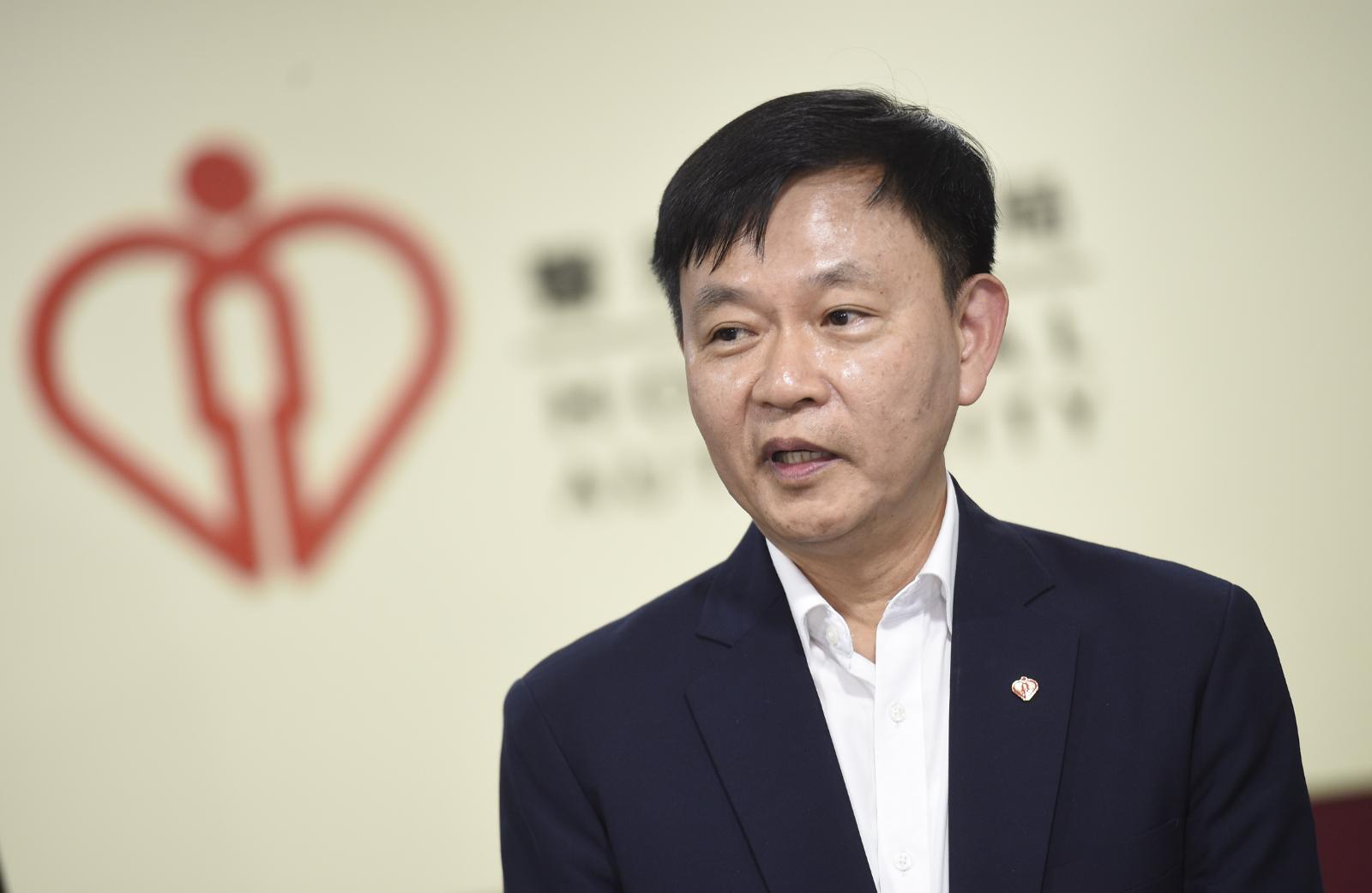 梁栢賢表示,醫管局成立三人特別工作小組,檢視病人資料安全性。