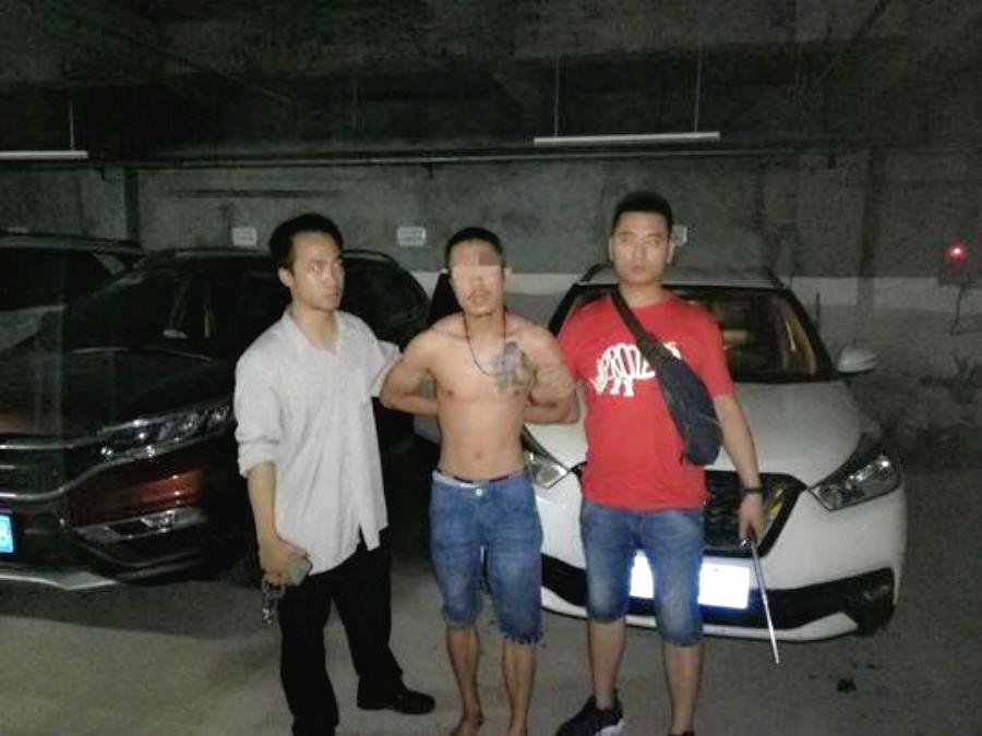 盜竊疑犯被捕。網上圖片