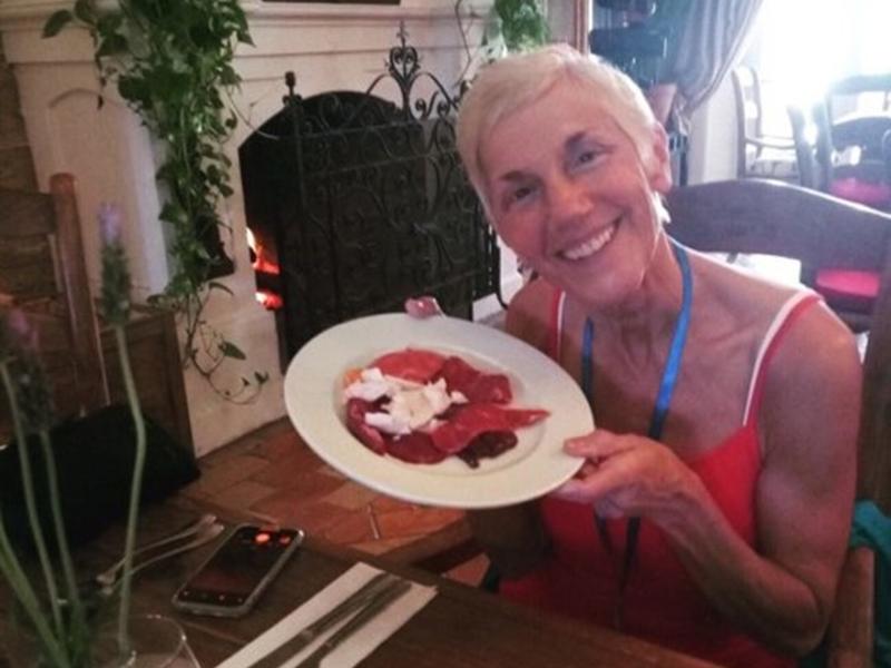 Eva LaRoche本来是一位素食主义者。  网上图片