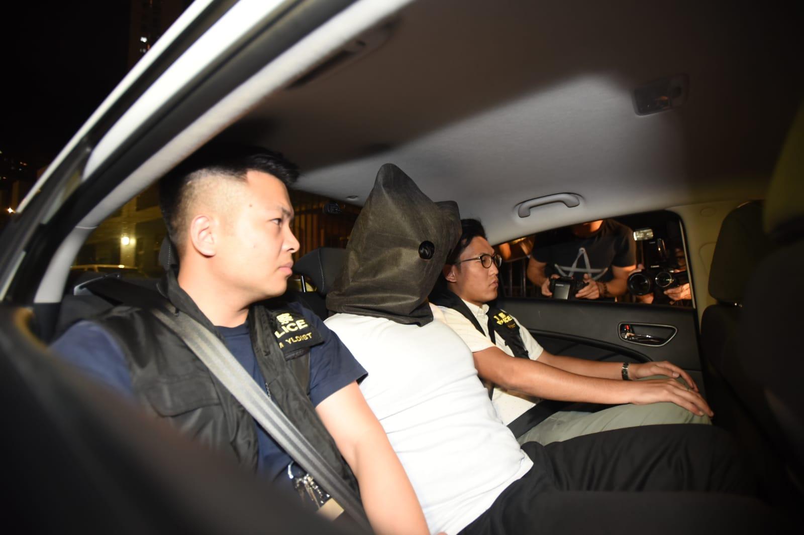 被捕的3名南亞裔男子,年齡介乎16至20歲。