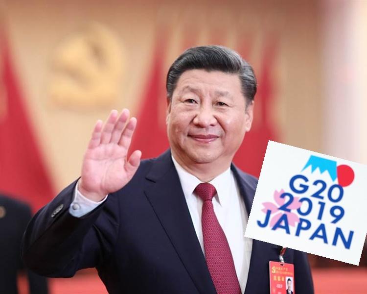 习近平将于周四赴大阪出席G20峰会。新华社