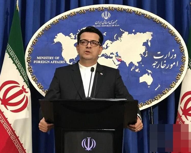 伊朗外交部发言人穆萨维。AP