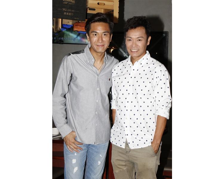 郭晉安拍《白色強人》與馬國明處於對立地位。