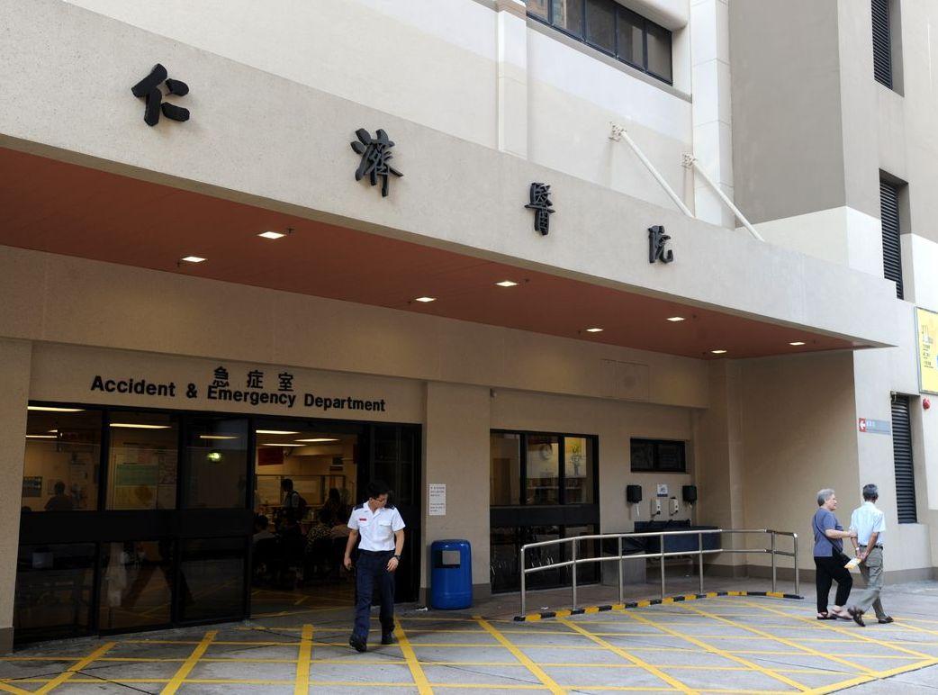 3宗警方人員在院內的拘捕行動,包括伊利沙伯醫院、仁濟醫院及廣華醫院。資料圖片