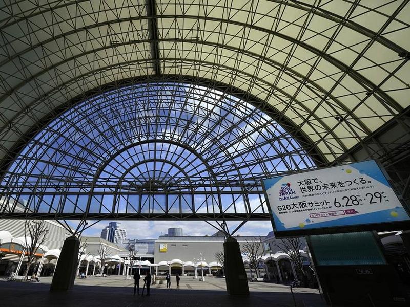 二十國集團峰會即將於本周五及周六在日本大阪舉行 。AP圖片