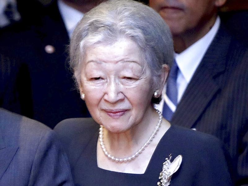 日本上皇后美智子幾年前眼睛漸漸看不清,被醫生診斷患上白內障。 AP圖片
