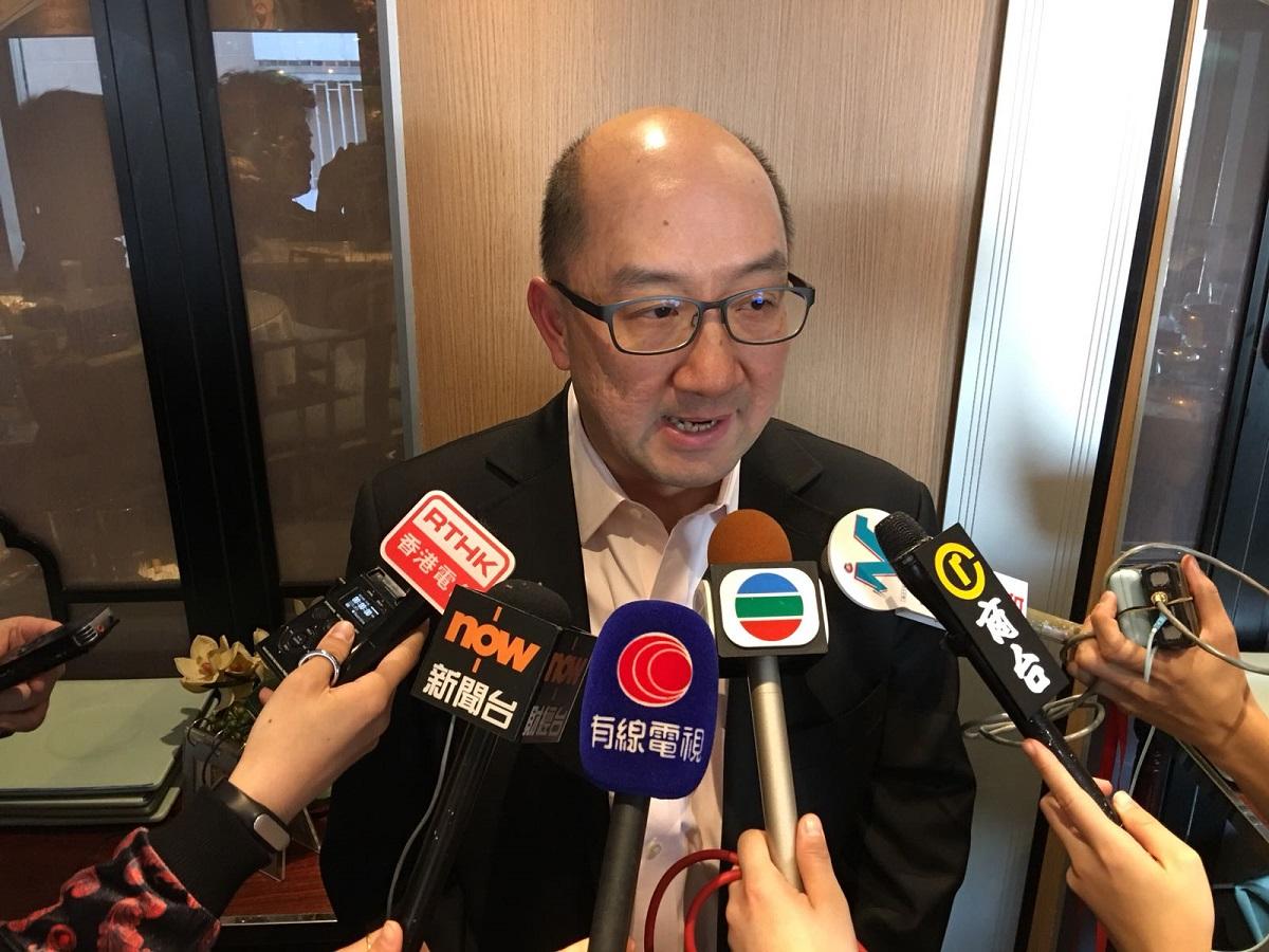 政制及內地事務局前局長譚志源。資料圖片