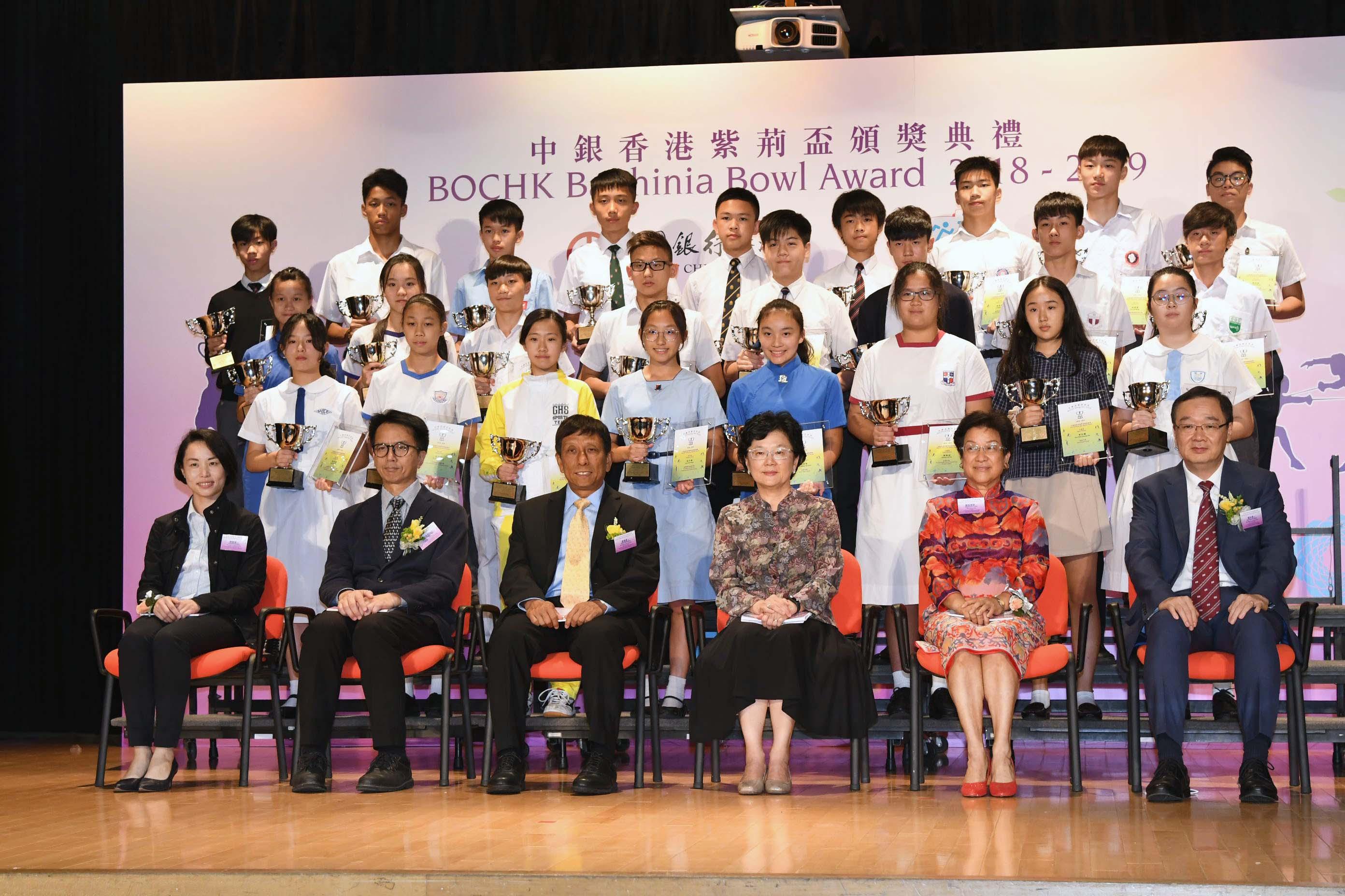 今屆共有二十七名運動員奪中銀香港青苗盃個人獎項。郭晉朗攝