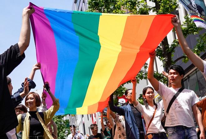 茨城縣將於7月1日起實施「伴侶宣誓制度」,認可同性情侶能成為彼此的人生伴侶。網上圖片