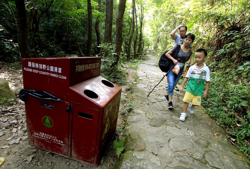 33%受訪者過去3個月內曾到郊野公園。資料圖片