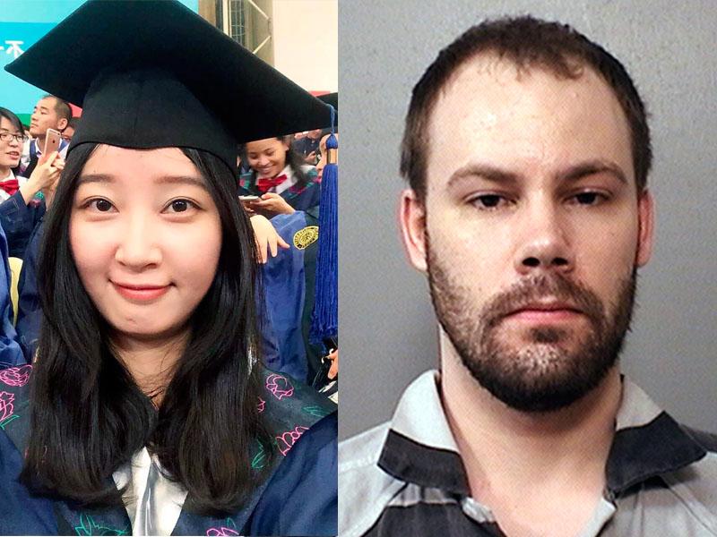 克里斯坦森(右)綁架謀殺章瑩穎(左)罪成。