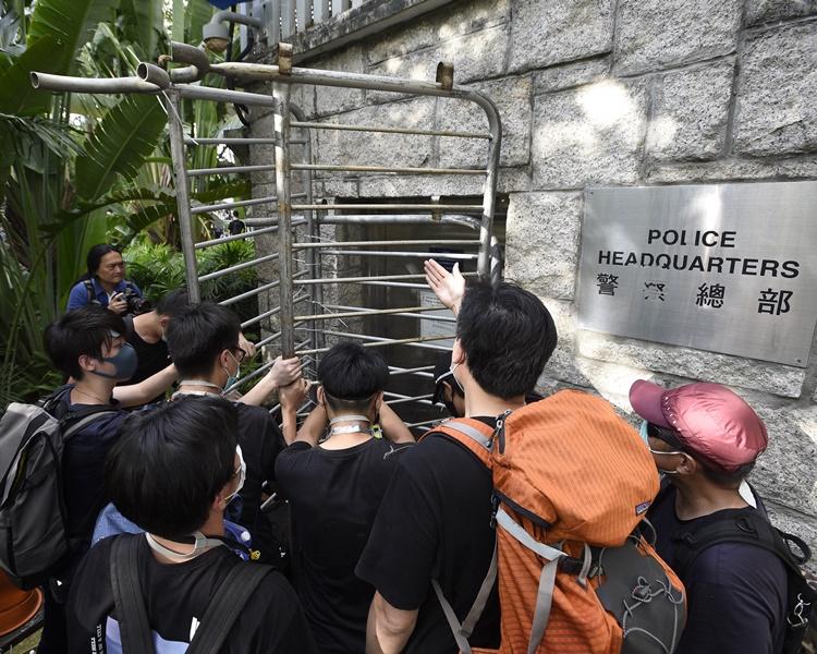 紀律部隊人員總工會對警總被包圍表示遺憾。