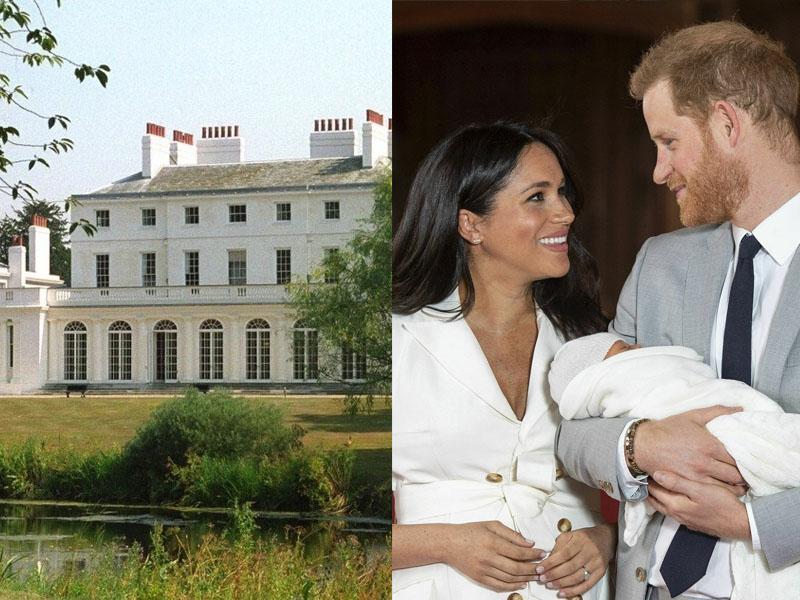 哈里王子和夫人梅根的新屋,將花費納稅人240萬英鎊裝修。AP