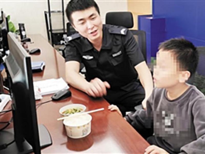 雲南一名9歲的男童,因未有完成功課,擔心被老師和父母責罵,於是選擇離家出走。網上圖片
