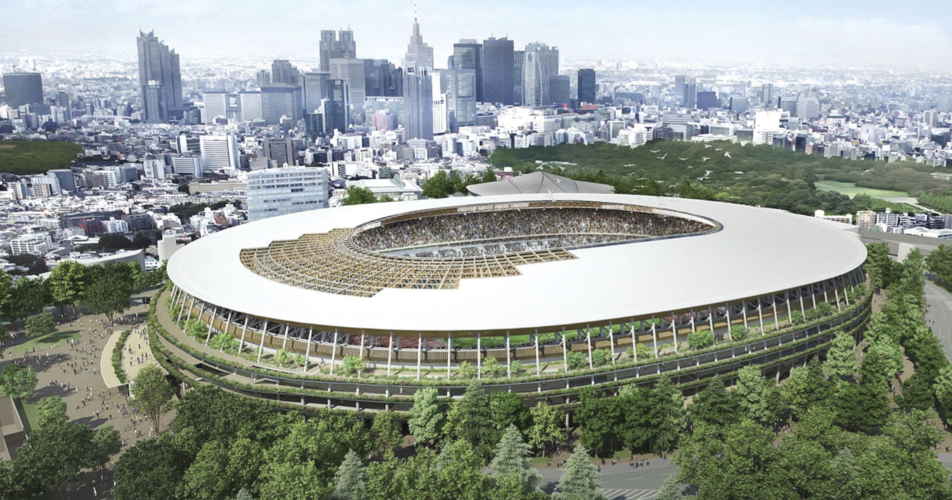 2020年東京奧運場館。AP