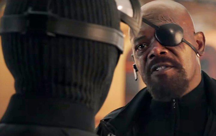 神盾局局長Nick Fury是盲左眼。網圖
