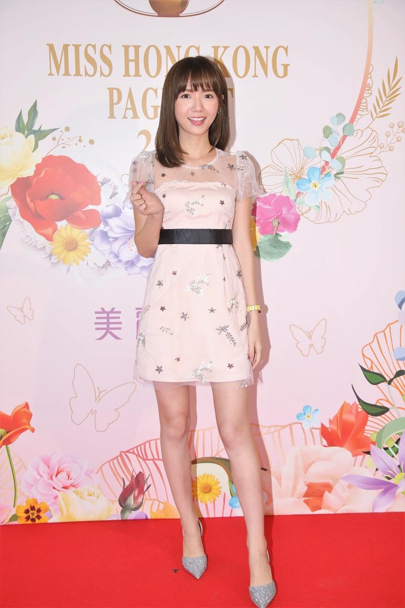 楊慧敏參與港姐首輪面試。