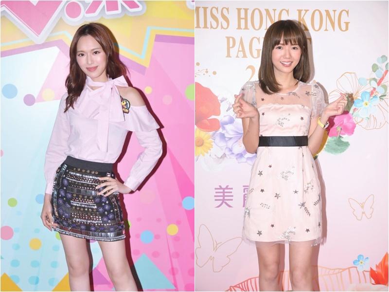 馮盈盈指楊慧敏(右圖)是同一學系的師姐,對方是港大風頭躉。