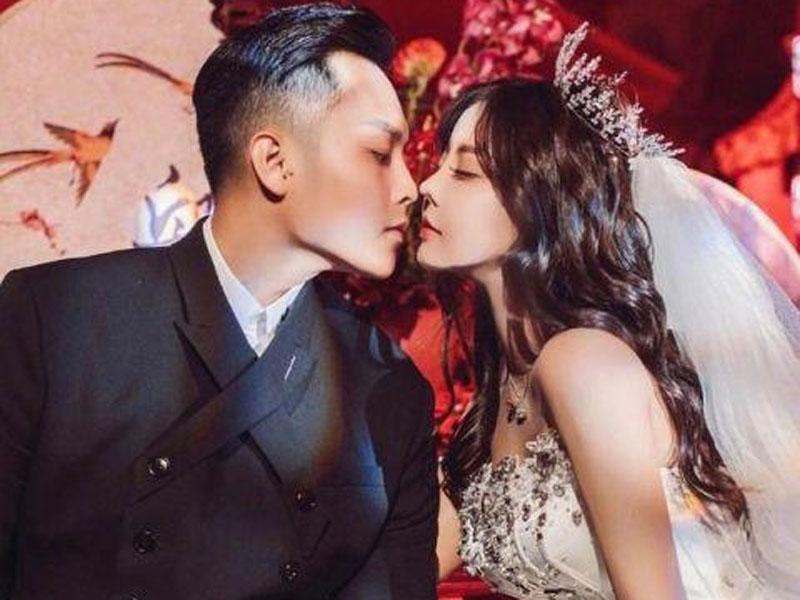 剛直播完婚禮1周,網紅韓安冉火速宣布離婚。(網圖)
