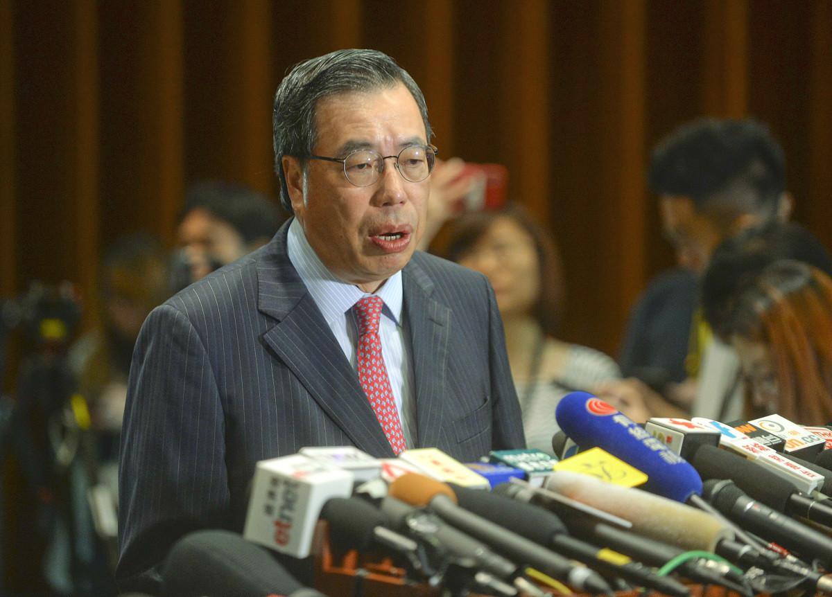 立法會主席梁君彥。資料圖片