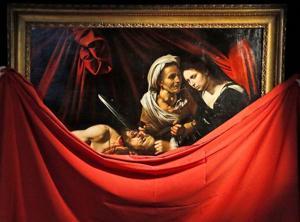 以聖經為主題的名畫《猶滴與荷羅孚尼》。網圖