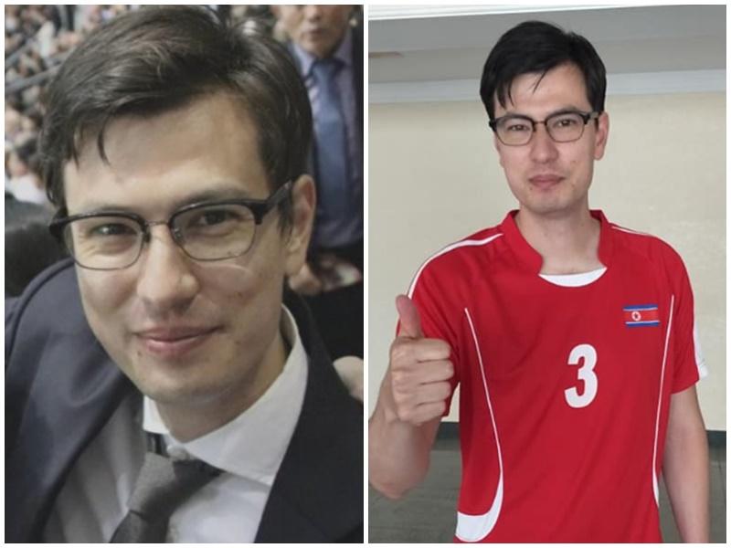 澳洲留學生Alek Sigley在北韓被扣留。facebook