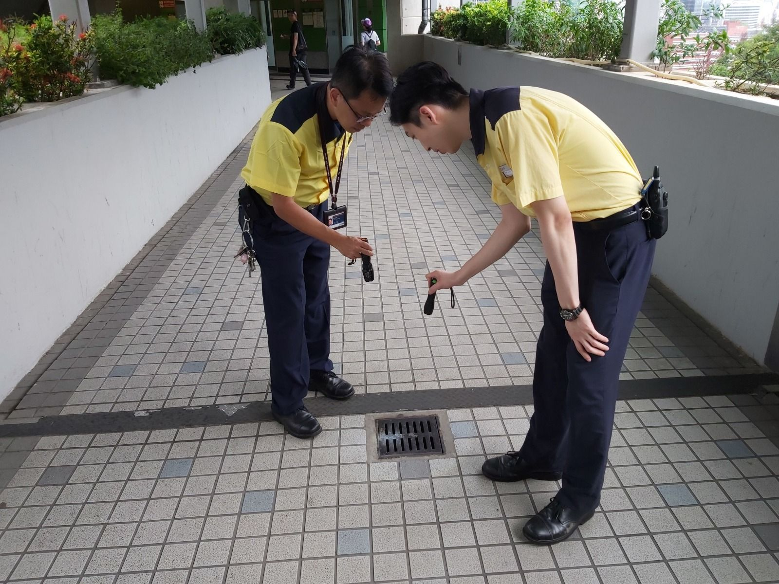 港鐵又指,已詳細檢查車站的去水系統及附近渠道。