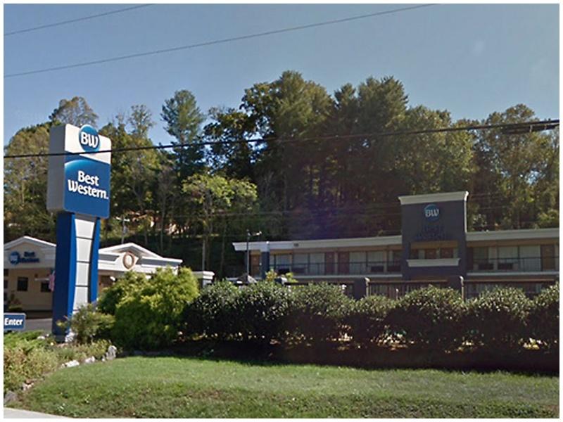 北州Best Western酒店有兩名住客疑中一氧化碳死亡。網圖