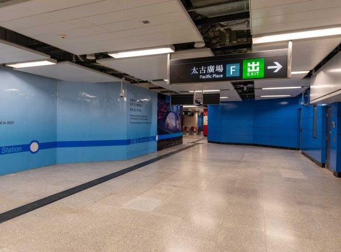 新通道將於明日正式開放予乘客使用。