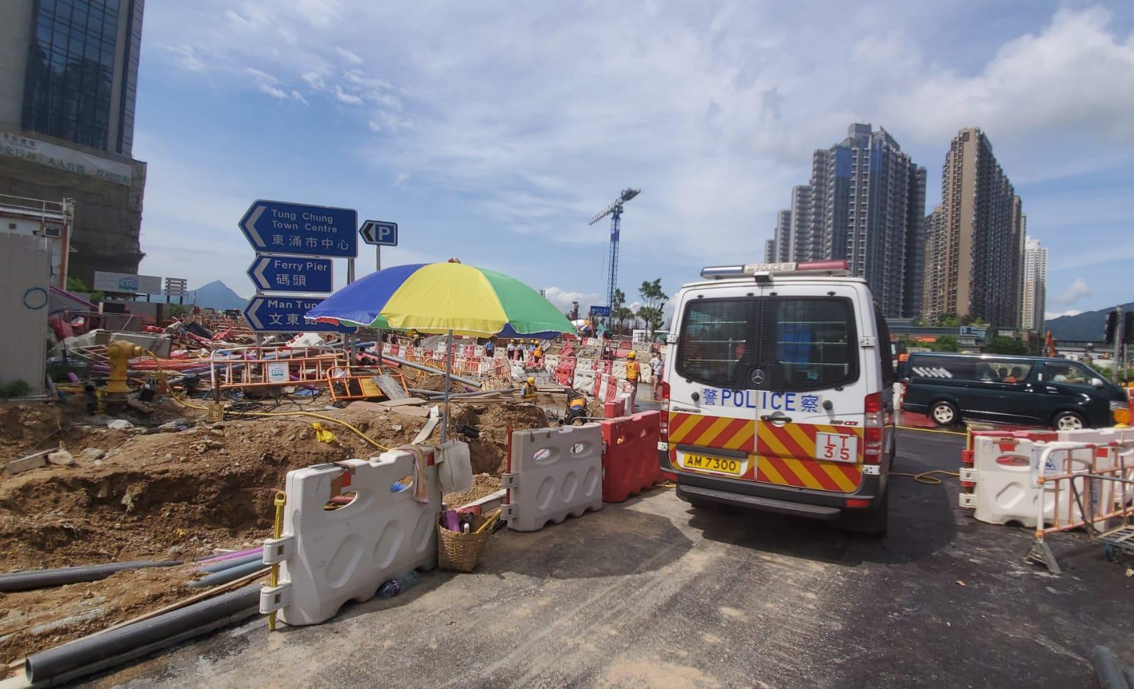 東涌地盤鋁板高處墮下 擊斃工人