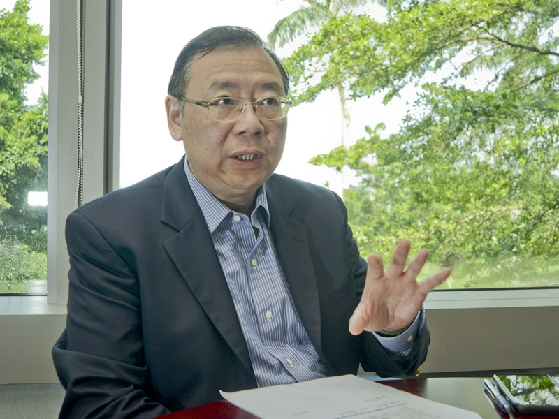LSCM行政總裁黃廣揚。