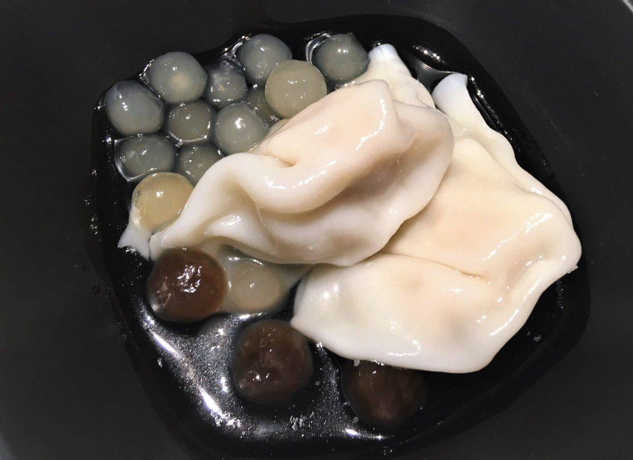 珍珠水餃。網上圖片