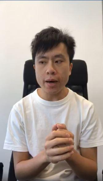 鄺俊宇FB截圖