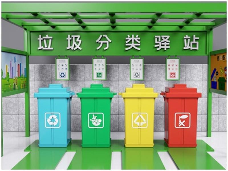 上海今實施「史上最嚴」垃圾分類。網圖