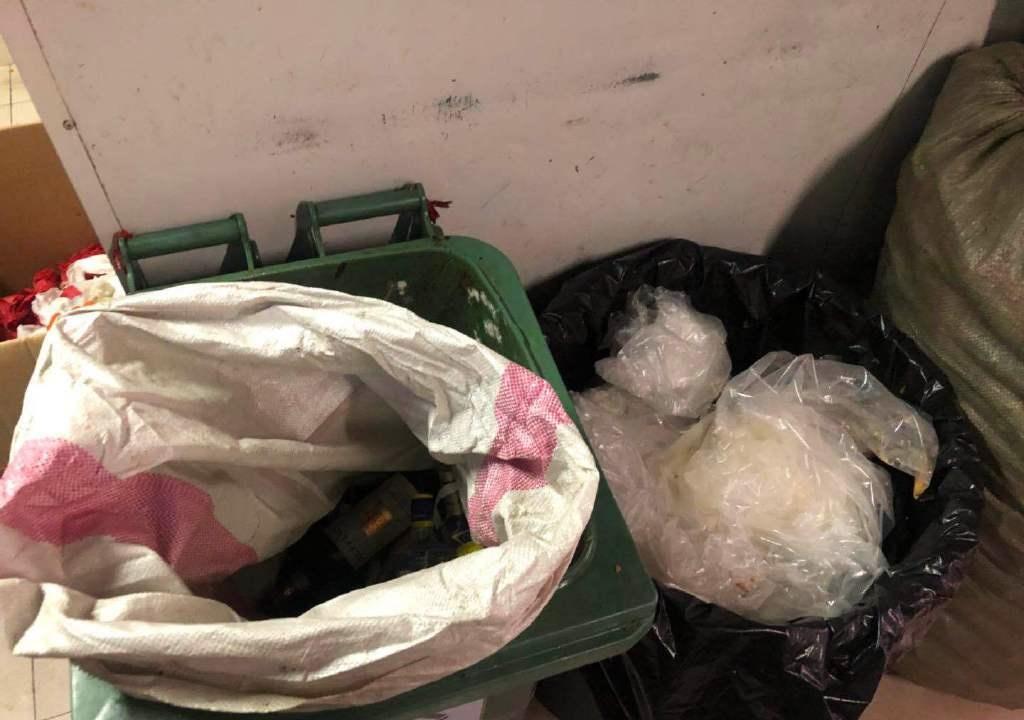 酒店4類垃圾桶不標準,亦被要求整改。微博