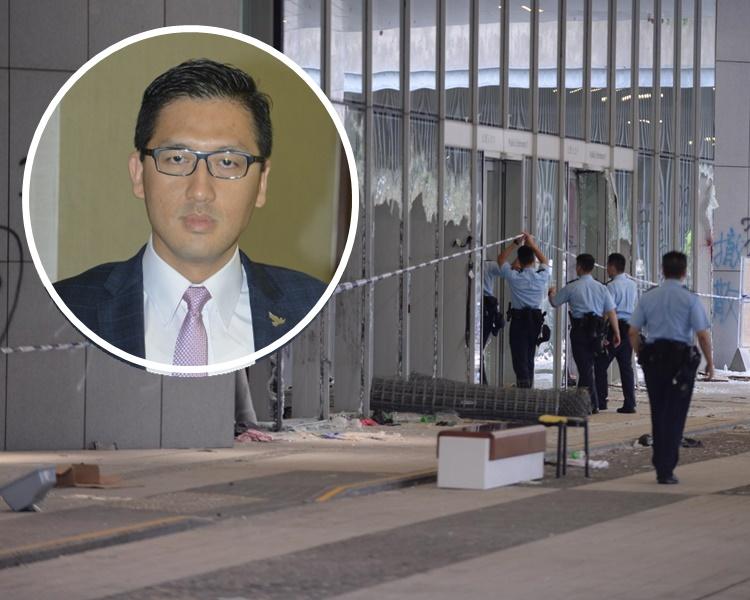 林卓廷希望警方完成蒐證並盡快解封立法會的樓層。