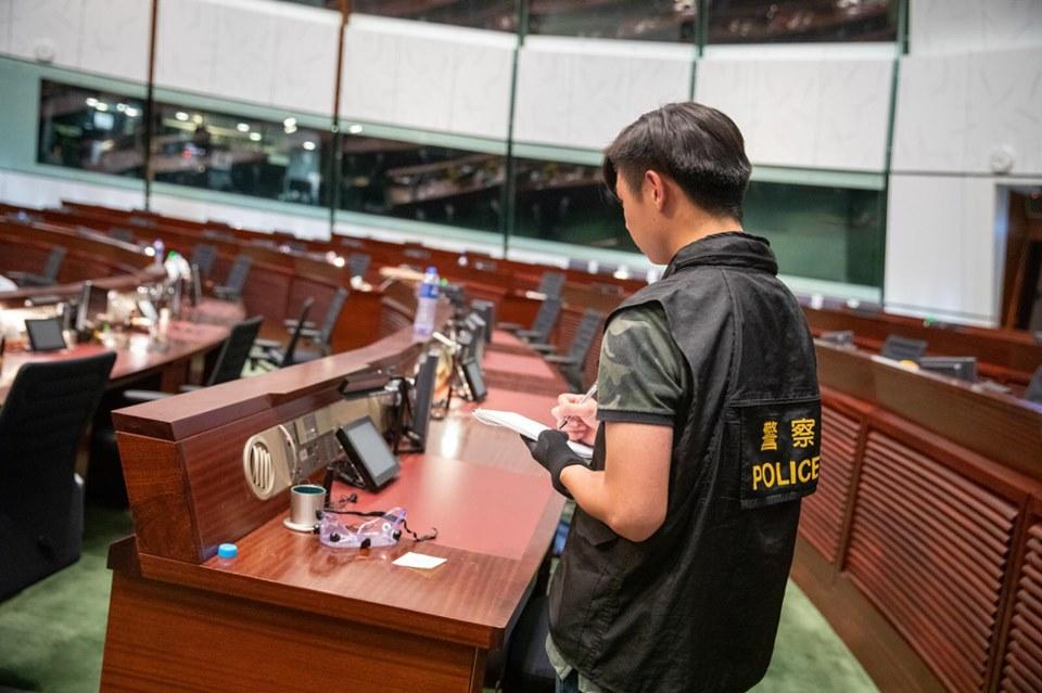 香港警察fb