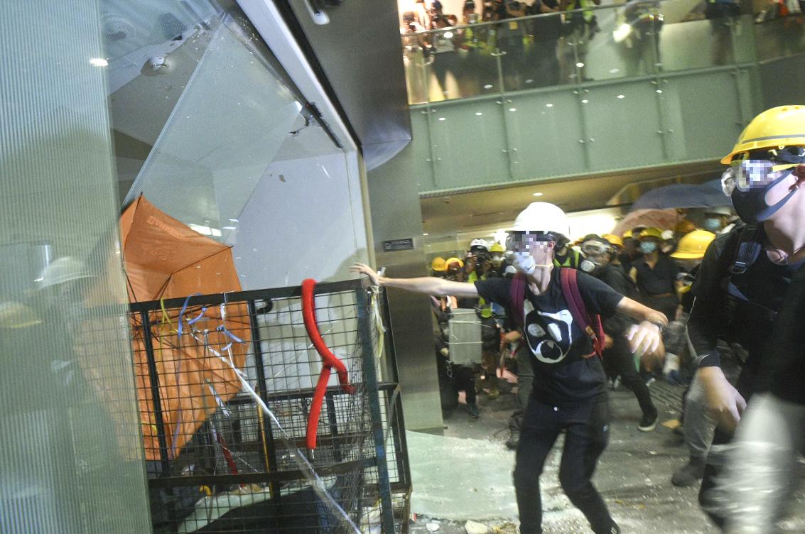 文翠珊稱對示威者衝擊立法會感到震驚。資料圖片