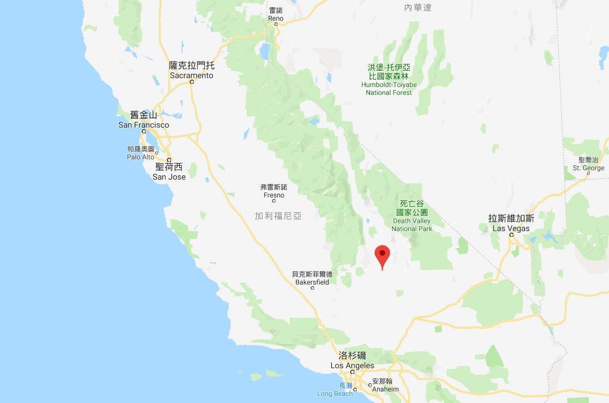 美國加州南部發生6.4級強烈地震。網上圖片